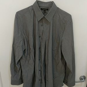 Gray Banana republic XL stretch slim fit shirt